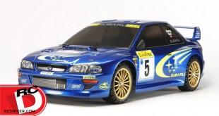 Tamiya - Subaru Impreza - TT-02 Monte-Carlo '99 copy