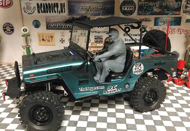 Bob Baker Jeep >> Mini Me for an RC Scale Jeep - RC Driver