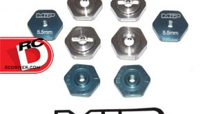 MIP - 17mm Hex Adapter Kit for All TLR SCTE Vehicles copy