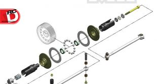 MIP - Roller Pucks Bi-Metal Drive System for the TLR 22 3