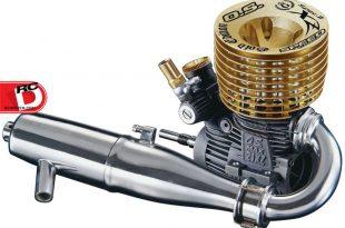 O.S. Engines - 21XZ-B Speed Spec II Gold Edition Engine
