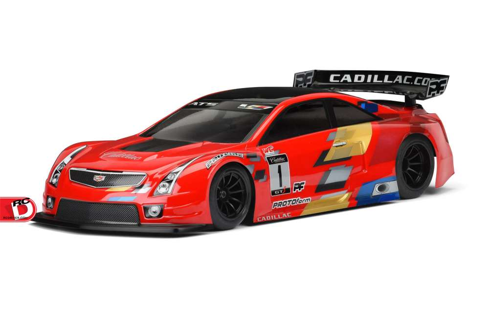 Cadillac ATS-V.R 200mm Clear Body from PROTOform - RC Driver
