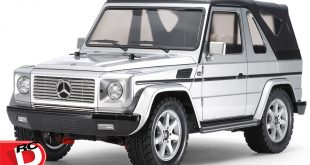 Tamiya - Mercedes-Benz G 320 Cabrio MF-01X with Silver Painted Body copy