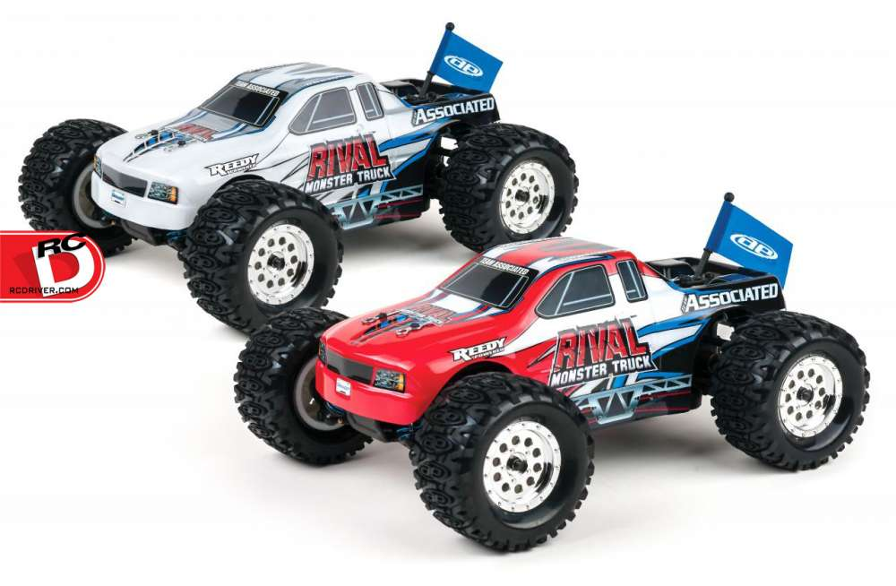 Return Of The Rc18mt The Rival 1 18 Monster Truck Rtr
