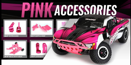 Pink Accessories Now Available From Traxxas Rc Driver