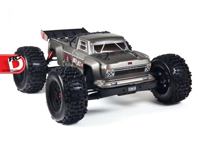 Outcast 6s Blx From Arrma Rc Driver