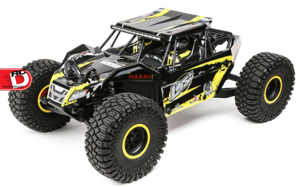 Rock Rey Scale Rock Racer From Losi Rc Driver