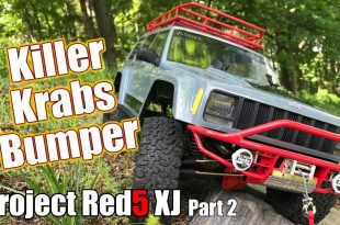 Project Red5 XJ Axial SCX10 II