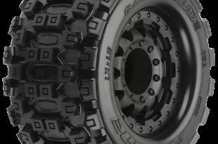Badlands MX28 2.8 All Terrain Tires Mounted
