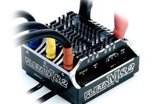 FLETA M8.2 Competition 18th Scale Brushless ESC 180A Black
