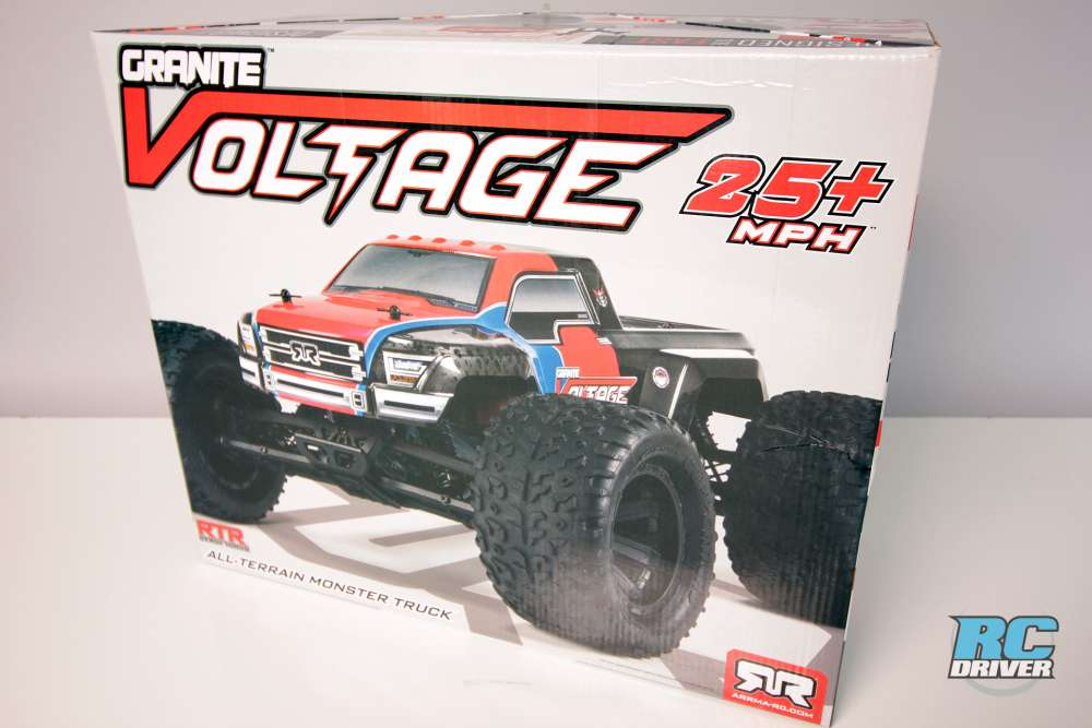 Unboxing - ARRMA Granite Voltage Ready To Run MT