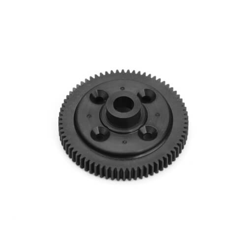 70-Tooth Black Composite Spur Gear for the Tekno EB410