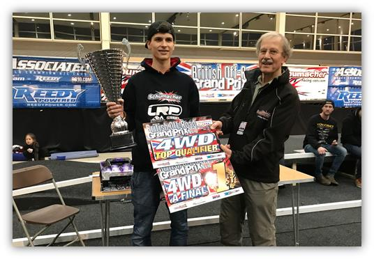 Orlowski from Schumacher Dominant at British Off Road Grand Prix