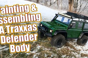 Traxxas TRX-4 Land Rover