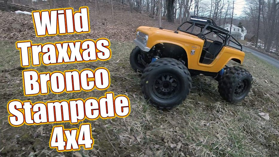 Project Traxxas Bronco Stampede 4x4 Basher