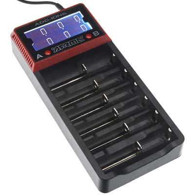 ARRMA 18650 Li-Ion 6-Bay Battery Charger
