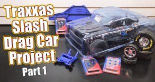 Traxxas Slash RC Drag Car