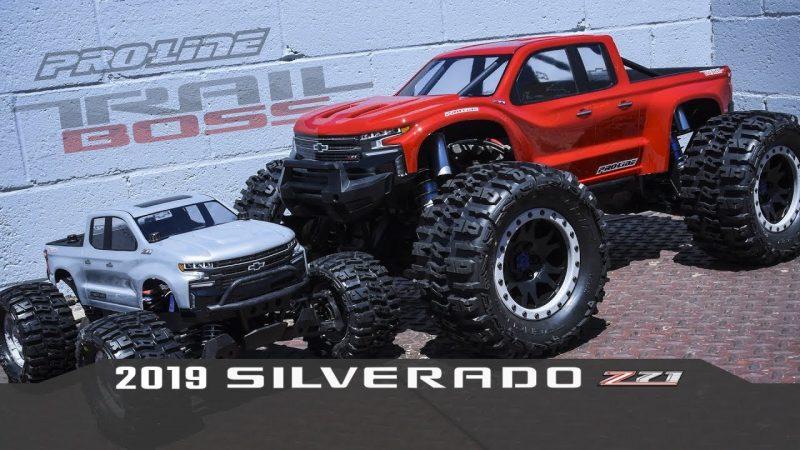 Pro-Line 2019 Chevy Silverado Z71 Trail Boss Clear Body