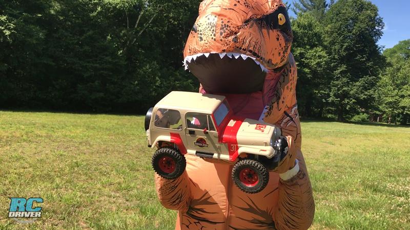 RC Jurassic Jeep Tribute Build
