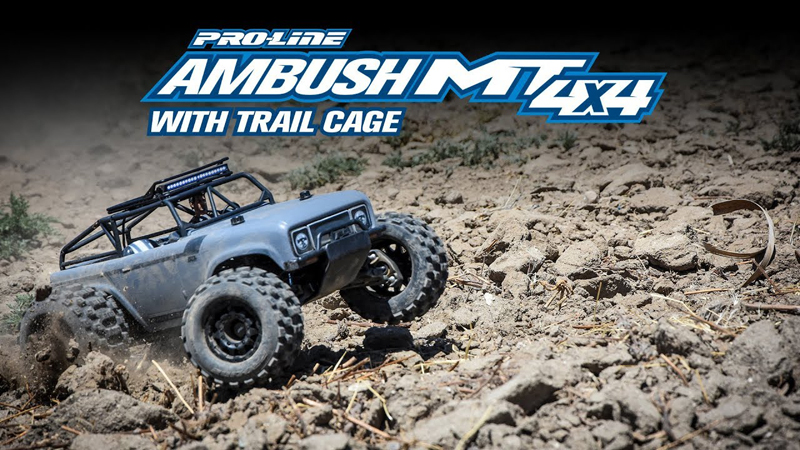 Pro-Line Ambush MT 4x4 with Trail Cage Special Edition