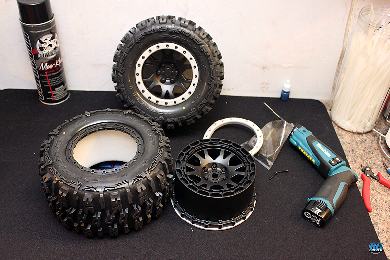 RC Driver Today Blog 9-28-2018 - Pro-Line X-Maxx Trencher Tire & Pro-Loc Wheel Assembly