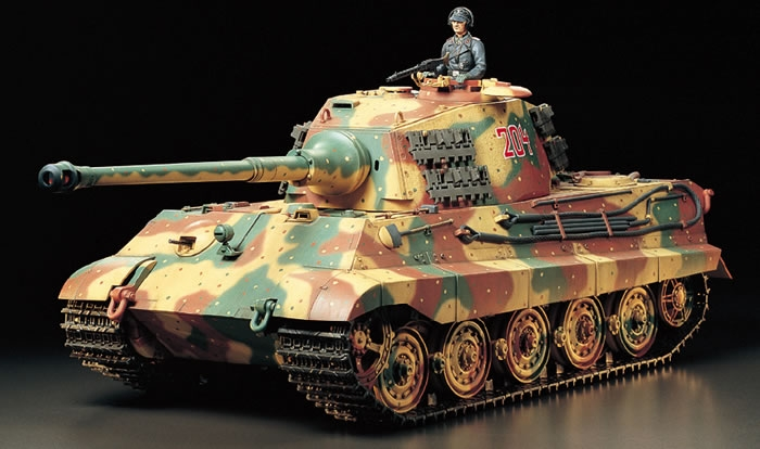Heavy Metal – Tamiya's ultra-realistic RC tanks