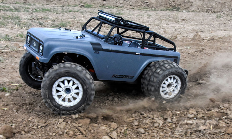 Transform 1/10 4WD monster trucks with Pro-Line