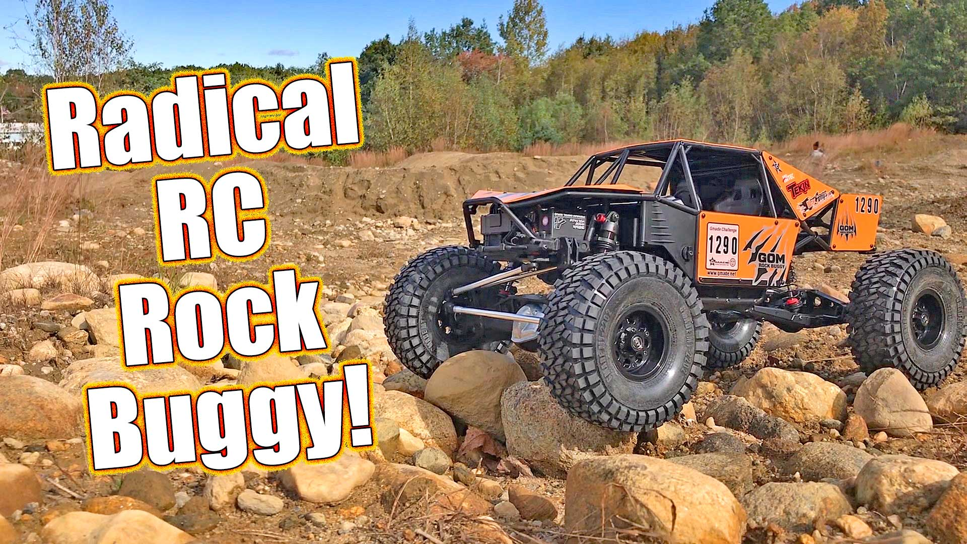 GMADE GR01 4WD GOM Rock Buggy Kit Review