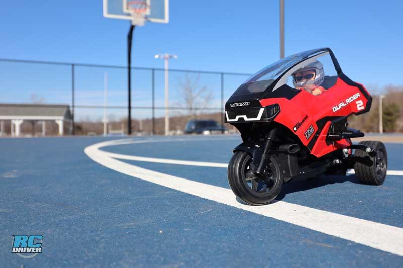 Tamiya Dual Rider T3-01 Radio Control Trike Review