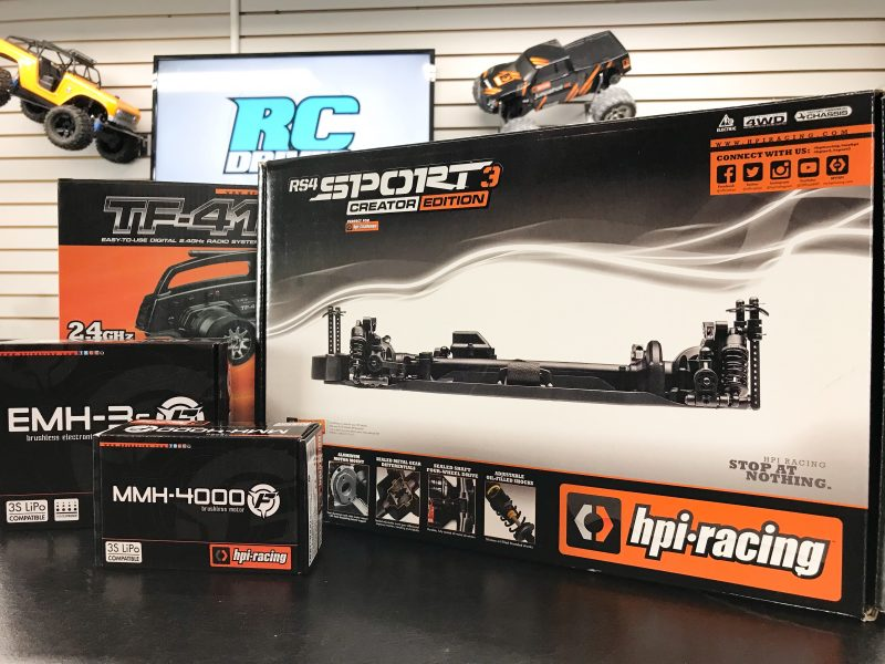 HPI Racing RS4 Sport 3 Creator Edition Kit  Build-Off Part 1