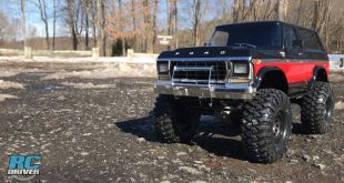 TRX-4 Lifted Ford Bronco