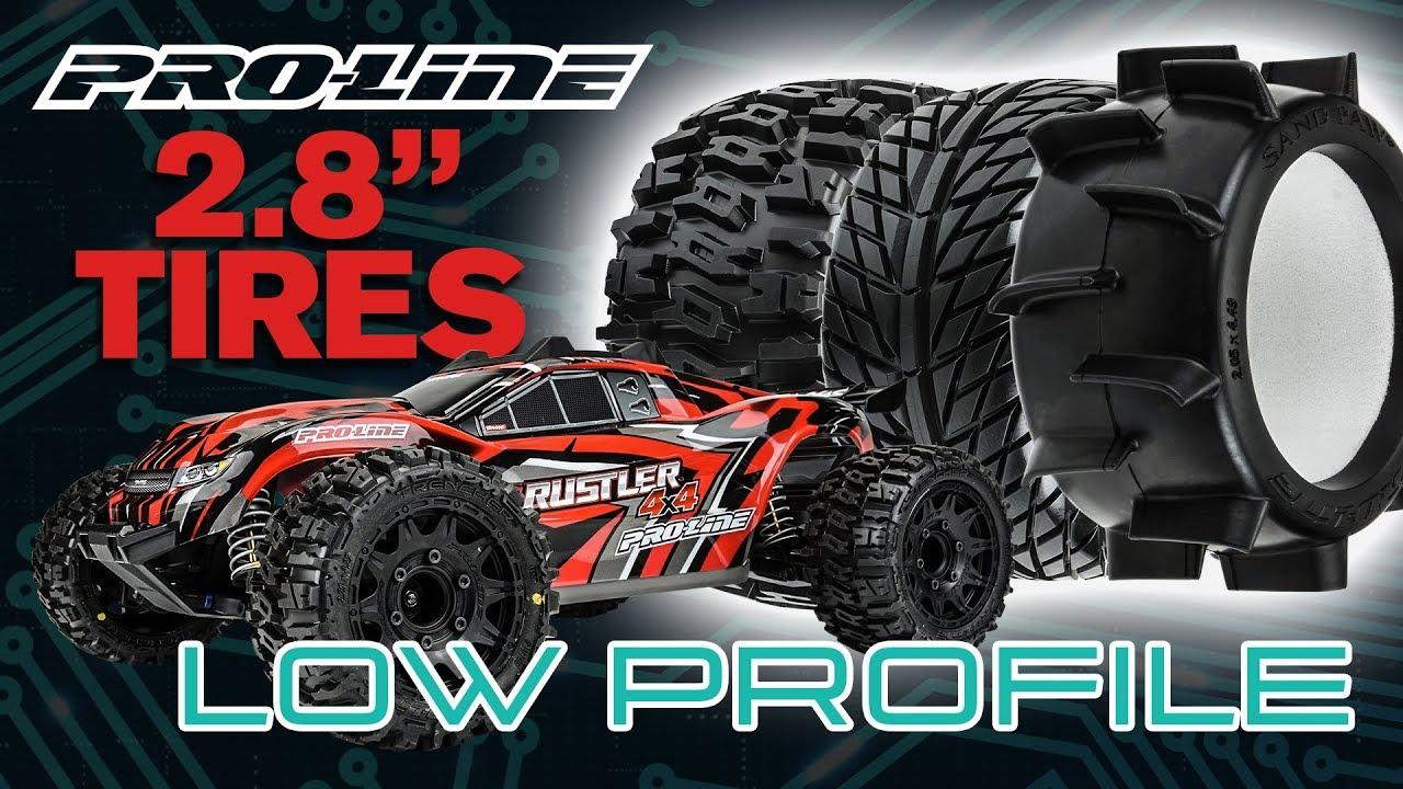 """Pro-Line Low Profile 2.8"""" Tires"""
