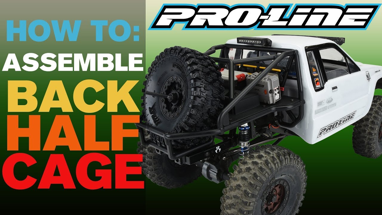 Pro-Line HOW-TO: Assemble Back-Half Cage