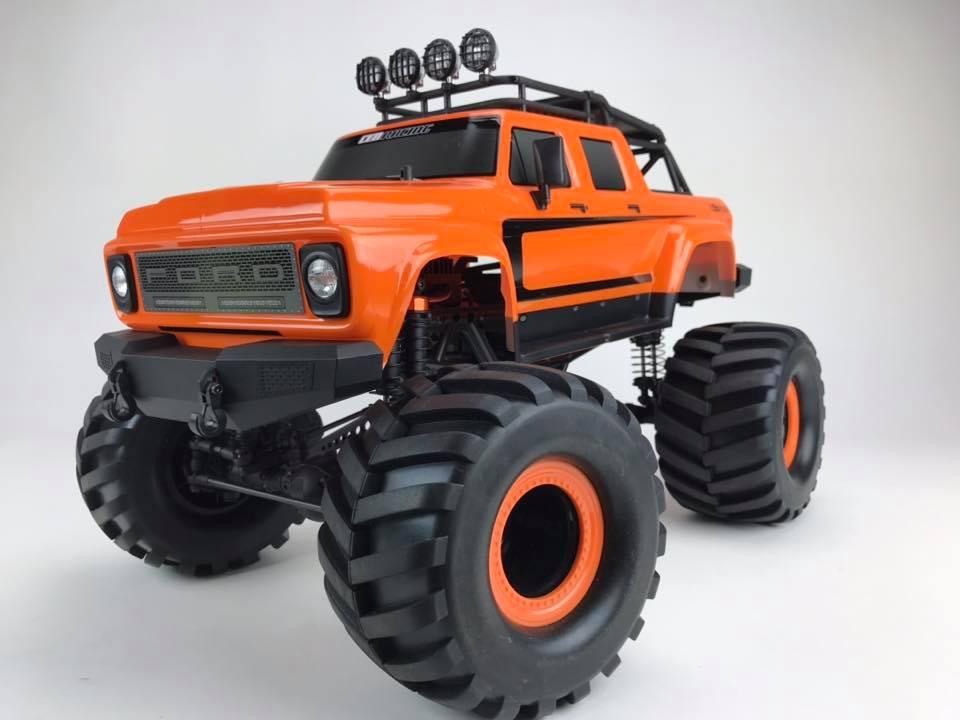 New Release – CEN Racing B50 monster truck