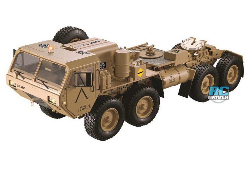 New Release – Integy HG-P802 8X8 Military Truck