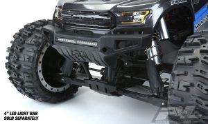 "Pro-Line PRO-Armor Front Bumper with 4"" LED Light Bar Mount"
