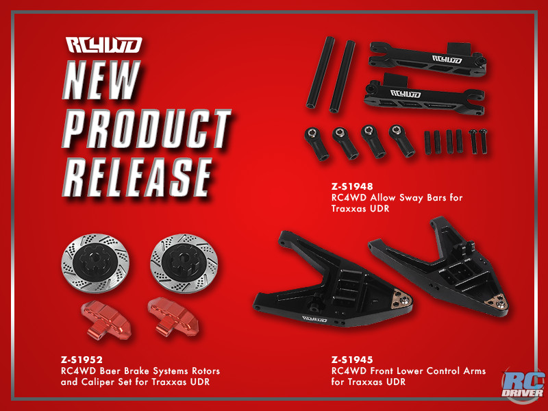 RC4WD Upgrade Parts for the Traxxas UDR