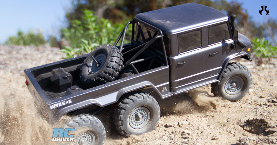 New Release - Axial UMG10 6x6 truck