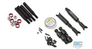 MIP driveline and wide track kit for Traxxas