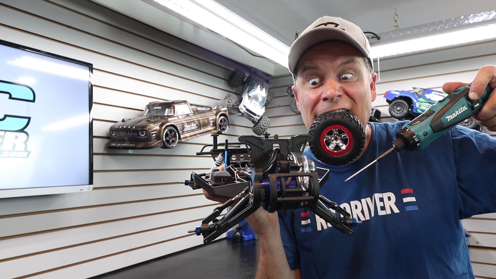 The Giveaway Build Begins - Pro-Line Racing Traxxas Slash Drag Car Project Part 1