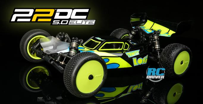 TLR 22 5.0 DC ELITE 2WD Race Kit