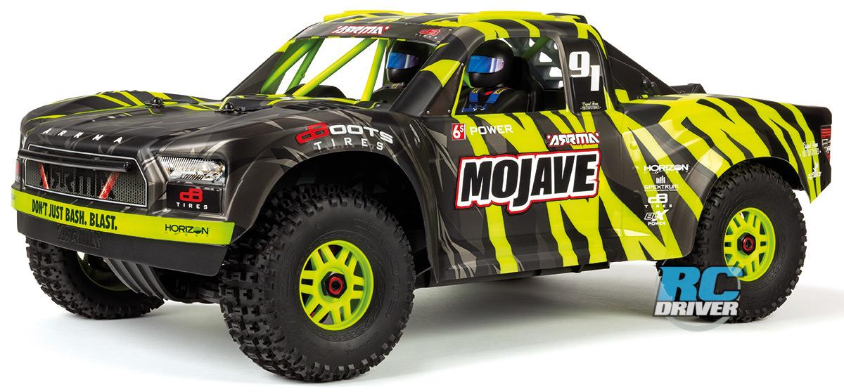 Arrma Mojave Desert Racer – 1/7-scale 6S BLX 4WD