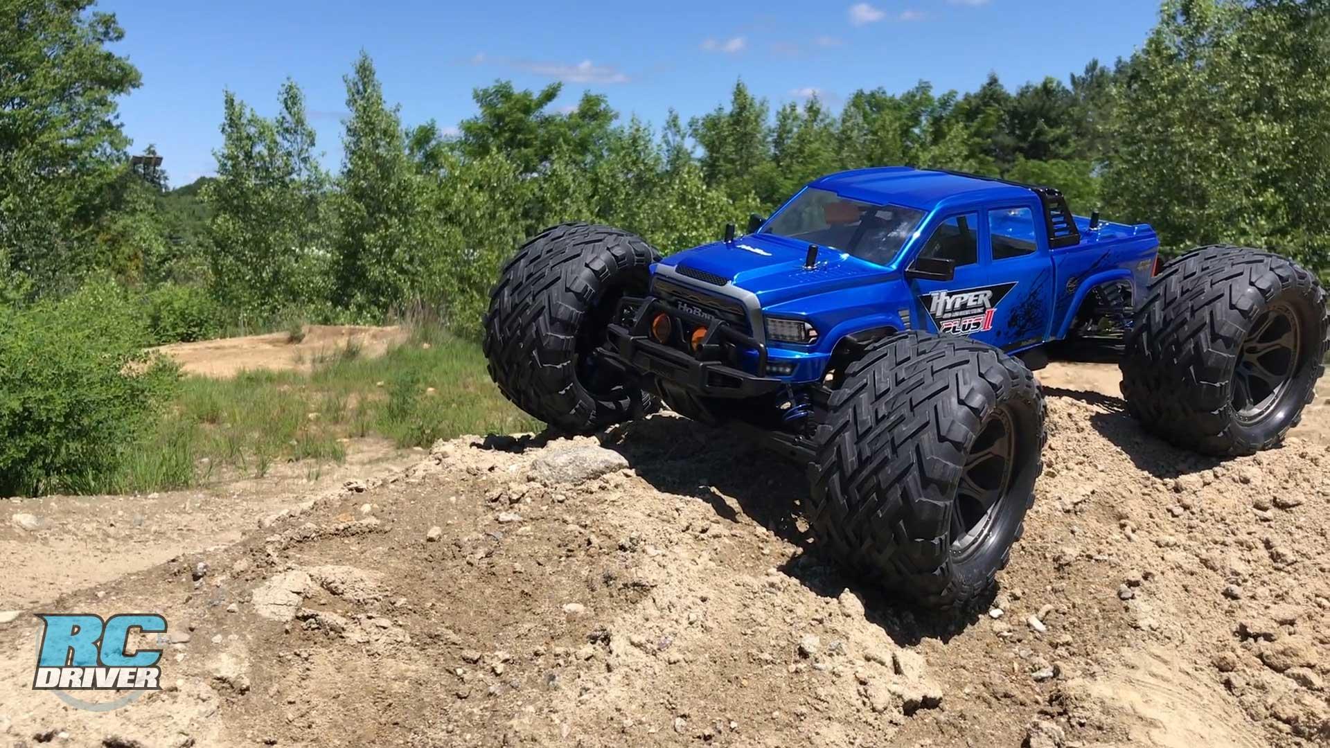 HoBao Racing Hyper MT Plus II RTR BL Monster Truck Review