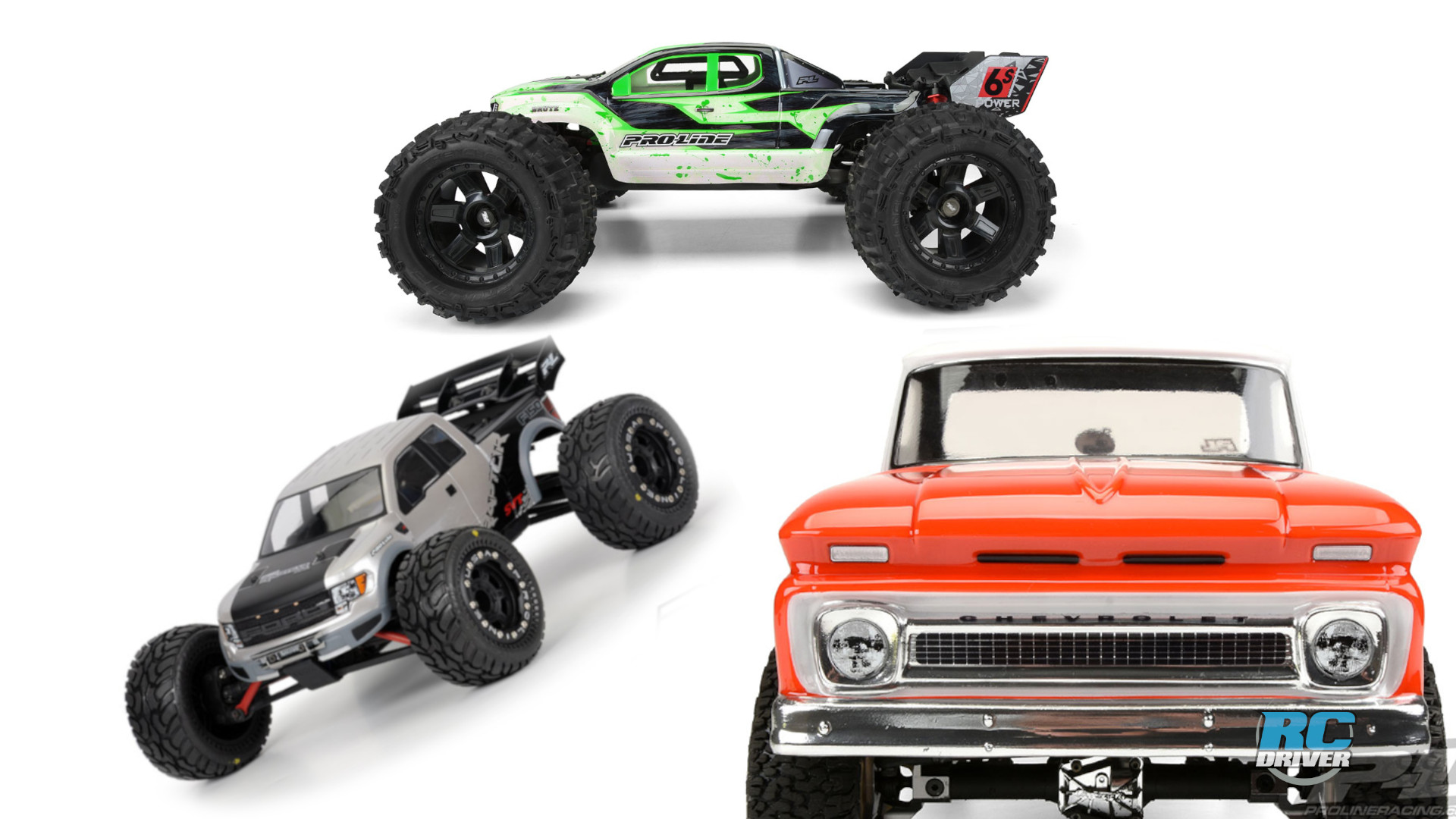 Transform your RTR with Pro-Line aftermarket parts