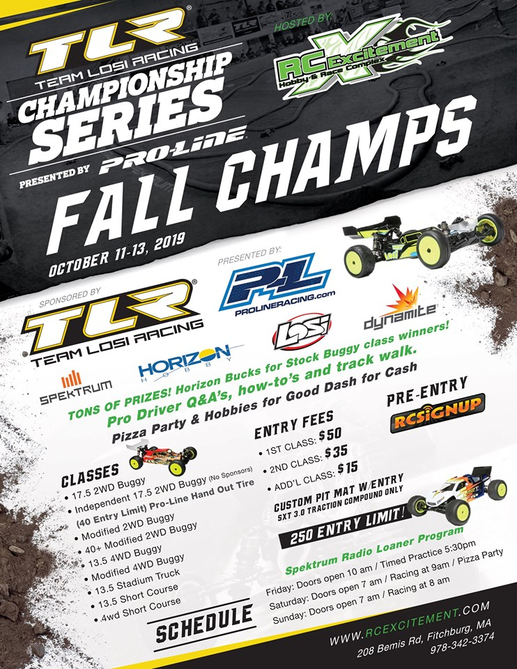 R/C Excitement TLR Fall Champs by Pro-Line Racing