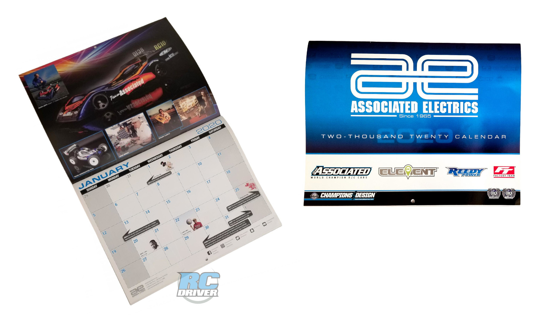 Associated Electrics 2020 Calendar - Just Announced