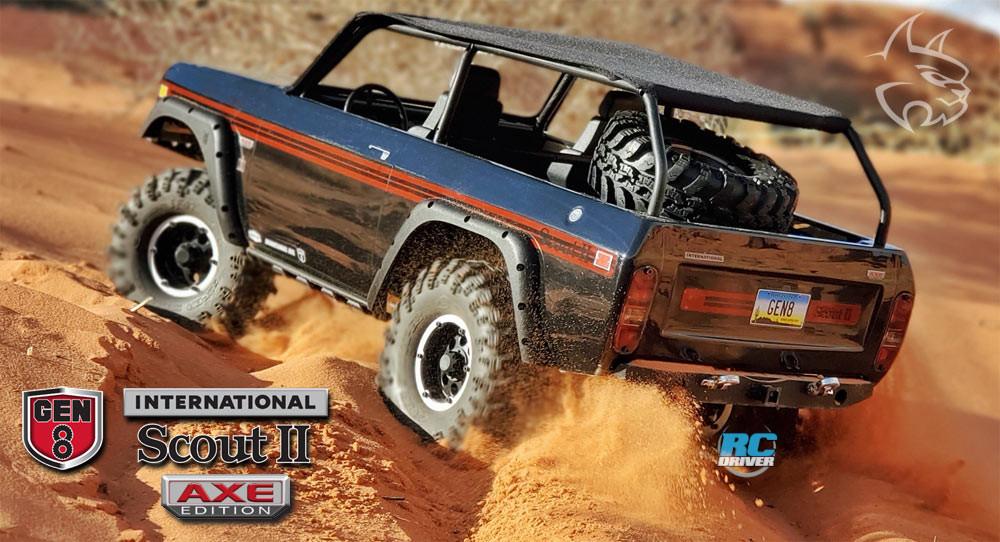 Redcat International Scout II Gen8 AXE Edition RTR Crawler