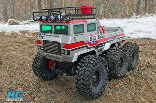 Tamiya Dynahead 6x6 RC Truck Quick Project Overview & Action