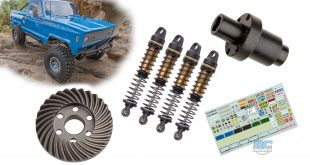 Associated Electrics FT parts for the Enduro Trucks
