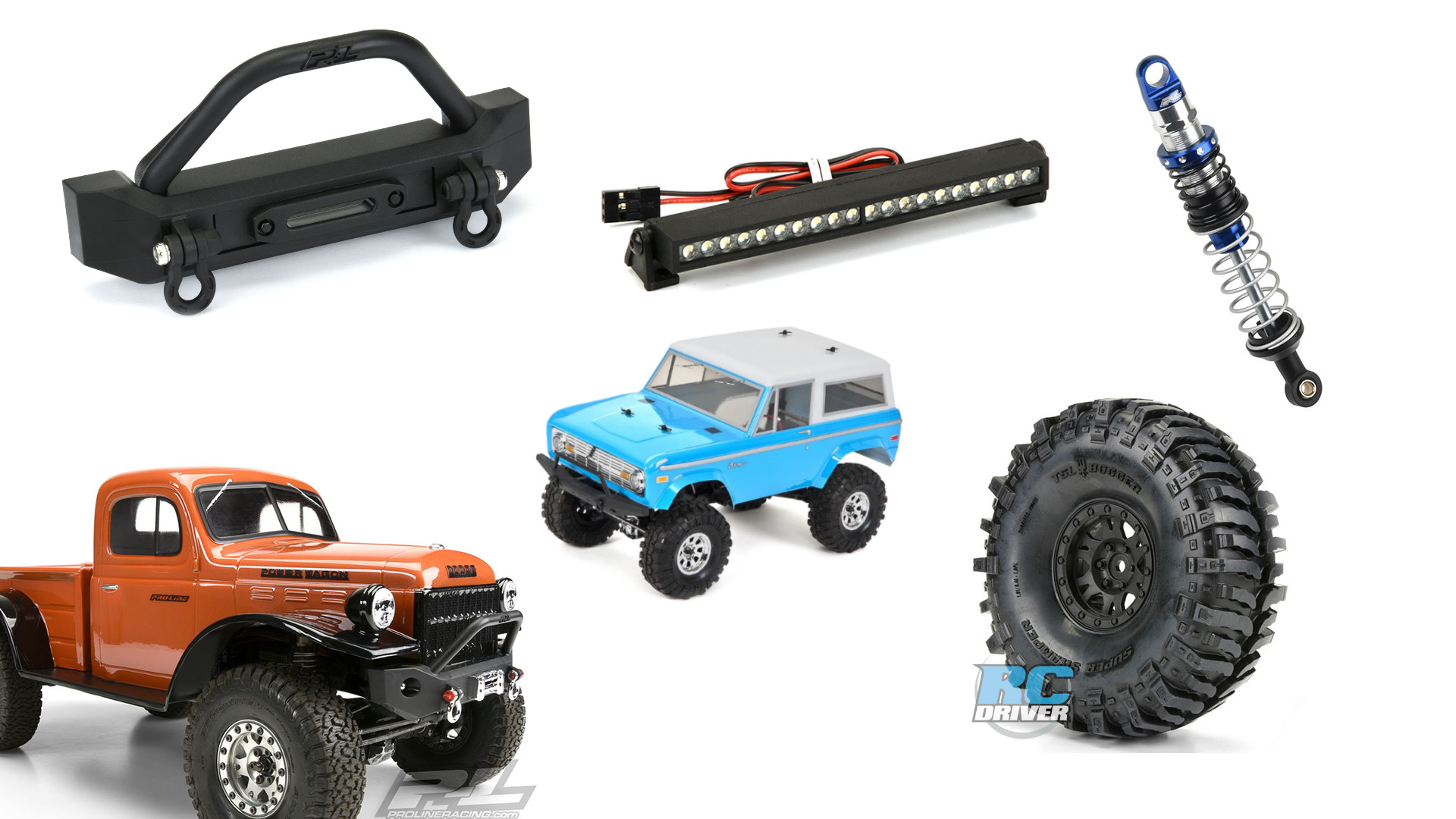 Top 5 Pro-Line Products to upgrade the Vaterra Ascender